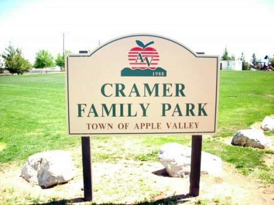 Cramer Family Park, April 2010